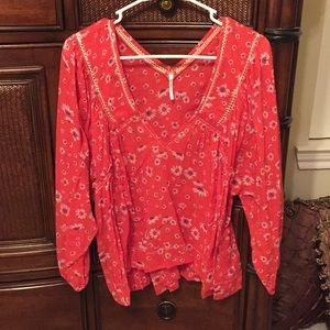 Free-People blouse/cover-up...you decide!